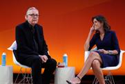 DDB Chairman Keith Reinhard and NA CEO Wendy Clark at NY Advertising Week