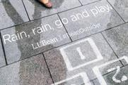 L.L.Bean's new work only appears in the rain