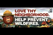 Smokey Bear gets help from animated emojis to prevent wildfires