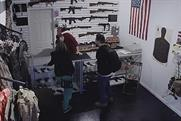 """States United to Prevent Gun Violence """"Guns With History"""" by Grey New York."""