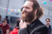 "Harley Morenstein of ""Epic Meal Time"" for Schick Hydro."