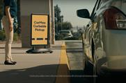 CarMax pays ode to curbs in spot to intro its contactless pickup service