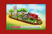 Chipotle's Rose Parade float looks to fund young farmers