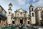 Catedral de San Cristobal in Havana.