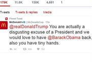 Was it the Hamburglar? McDonald's says account was hacked after anti-Trump tweet