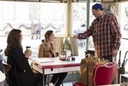 """Netflix transforms 200 coffee shops into """"Gilmore Girls"""" diners"""