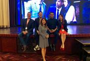 Notice team attending the Intel Partner Summit in Hong Kong October 2018 (L to R): Jonathan Weerts, Nicholas Kinports, Shumin Li, Vivek Sharma, Clair Ji