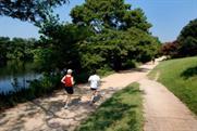 Running Lady Bird Lake.