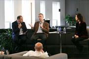 (L to R): Campaign's Global Head of Media Gideon Spanier, ANA's EVP Bill Duggan and 4A's CEO Marla Kaplowitz