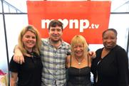 Pioneers: (L to R) Make Love Not Porn's community manager Ariel Martinez, CTO Aaron Sikes, founder and CEO Cindy Gallop and COO Charlotte Reid