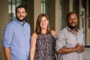(L to R) Blue Sky Agency's Alex Payne, Allie Clark and Marco Worsham