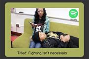 High school students tackle Spotify brief for 4A's competition