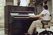 Stella Artois 4% 'runaway piano' by Mother London