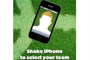 The Sun 'World Cup iphone app' by WCRS