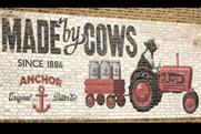 Anchor Butter 'made by cows' by CHI&Partners