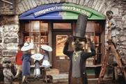 Comparethemarket.com 'ambitiousness' by VCCP