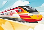 "Virgin Trains ""fly Virgin Trains"" by Elvis Communications"