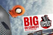 Comedy Central ... launch campaign
