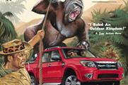 Ford 'real man's adventure' by Ogilvy