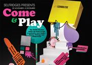 Selfridges '10 days of play' by 18 Feet & Rising