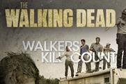 Fox 'walkers' kill count' companion app' by Red Bee Media
