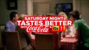 Coca Cola 'Saturday night tastes better with Coca Cola and iTV' by McCann Erickson
