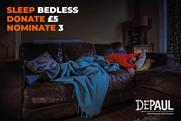 "Depaul ""#SleepBedless"" by Publicis.Poke"