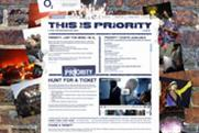 O2 'Priority digital campaign' by Archibald Ingall Stretton