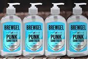 "BrewDog ""Punk Sanitiser"" by Uncommon Creative Studio"