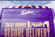 "Cadbury Twirl Orange ""Precious cargo"" by VCCP"
