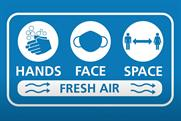 """UK government """"Hands, face, space and fresh air"""" by Freuds"""