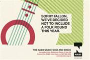 NABS 'music quiz' by DDB London