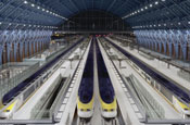 Eurostar 'St Pancras' by Fallon London