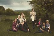 """Marks & Spencer """"meet Britain's leading ladies"""" by RKCR/Y&R"""