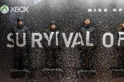 """Xbox """"Rise of the Tomb Raider: survival billboard"""" by McCann London"""