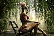 Orangina 'naturally juicy' by FFL Paris