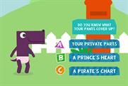 """NSPCC """"Playtime with Pantosaurus"""" by NSPCC and Aardman"""