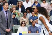 Jim Parsons helps Serena Williams 'upgrade' her game for Intel