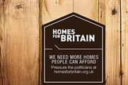 """Homes for Britain """"Westminster station domination"""" by Abbott Mead Vickers BBDO"""