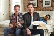 Kevin (and Michael) Bacon sing about eggs in all the wrong places