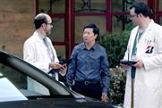 Actor and doctor Ken Jeong test drives Bridgestone's Ecopia tire line.