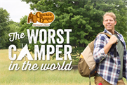 Camping leads to catastrophes in Cracker Barrel campaign