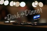 "Dixie ""Go Dark for Dinner"" by Droga5."