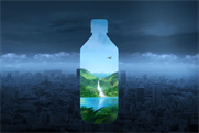 Fiji Water is running a year-old ad during the Super Bowl