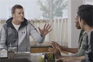 Tom Brady and Carmelo Anthony get flustered for Foot Locker's Week of Greatness