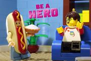 "Lego ""Be a hero"" by The Lego Agency"