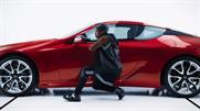 Lexus delivers a celebrity triple threat in Super Bowl LI spot