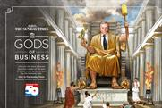 "The Sunday Times ""gods of business"" by Team News and The Box"