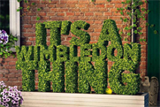 """All England Lawn Tennis Club """"It's a Wimbledon thing"""" by Space"""
