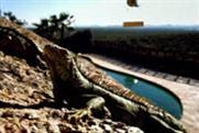 Iguana...top surreal ad